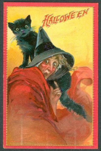 Vintage Tuck Halloween Postcards EBay