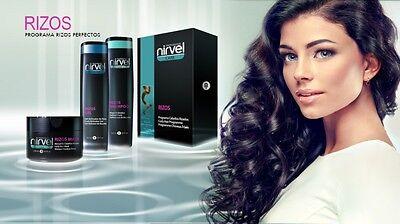 Shampoo für lockiges Haar Locken Curly Rizos kontrolliert Frizz Nirvel 250ml
