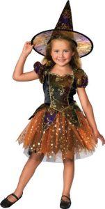 Elegant Witch Ballerina Child Halloween Costume