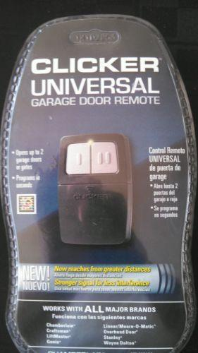 Clicker Garage Door Opener EBay