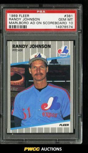 Johnson Fleer Marlboro Baseball Ebay