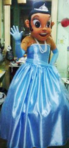 Princess Mascot Costume EBay