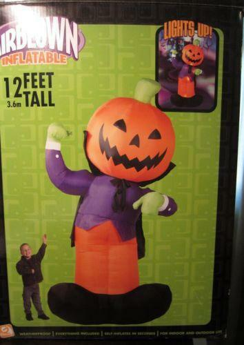 Inflatable Pumpkin EBay