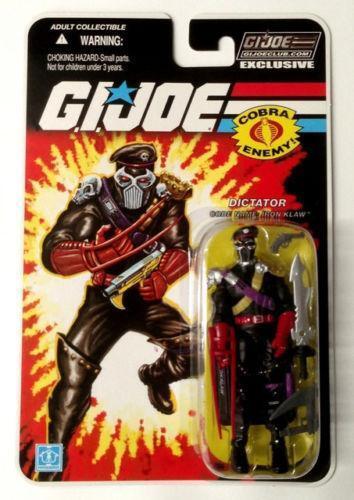 Gi Joe Club Exclusive EBay