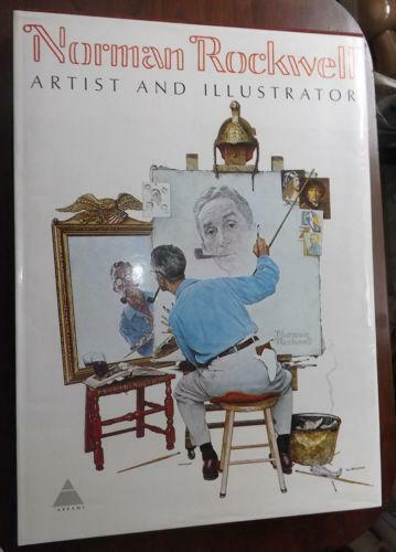 Norman Rockwell Book EBay
