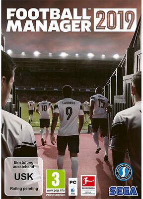 Football Manager 2019 [EU] STEAM Spiel FM 19 CD Key Digital Download Code Key