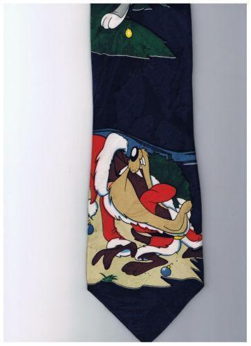 Looney Tunes Christmas Tie EBay