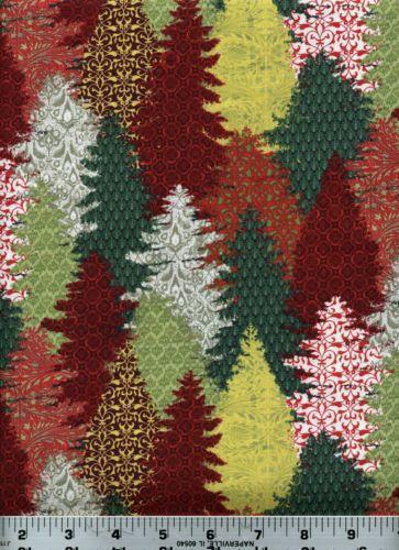 Pine Tree Fabric EBay