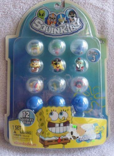 Spongebob Squinkies EBay