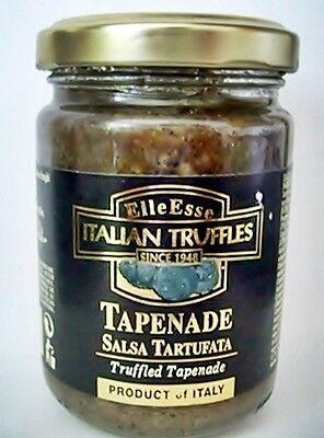 Trüffel Tapenade schwarze Sommertrüffel SAUCE 130g Salsa Tartufata aus ITALIEN !