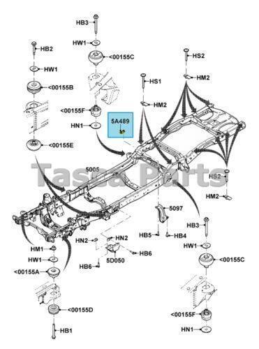 Ford Ranger Frame: Car & Truck Parts | eBay