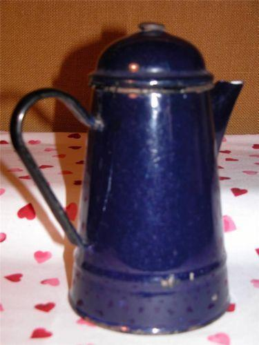 Vintage Enamel Pot Kitchenalia EBay