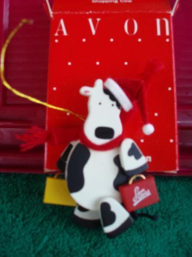 Cow Ornament EBay