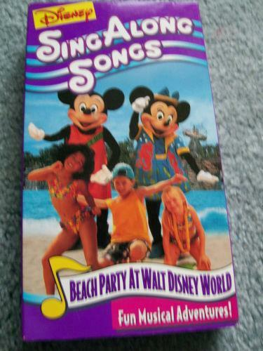 Mickeys Fun Songs VHS Tapes EBay