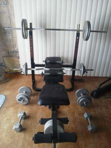 Used Weight Benches Ebay
