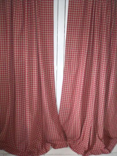 Laura Ashley Gingham Curtains