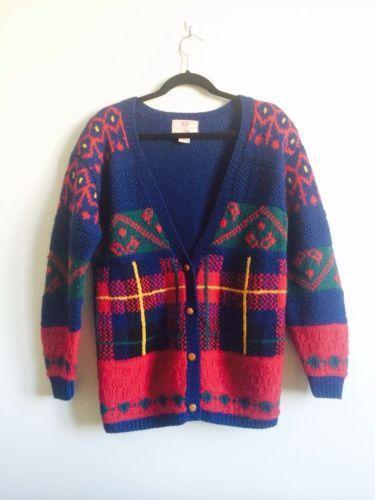 Vintage Holiday Sweater EBay