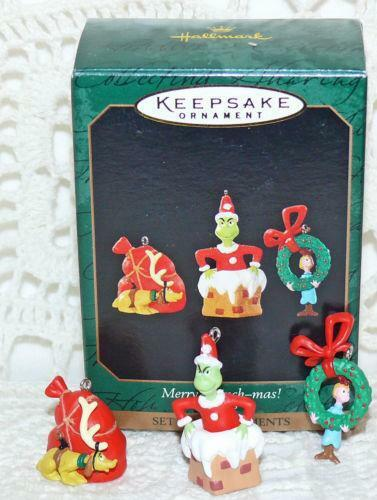 Hallmark Grinch Ornament EBay