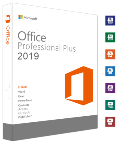Microsoft Office 2019 Professional Plus Vollversion Key Für 1 Windows PC Deutsch