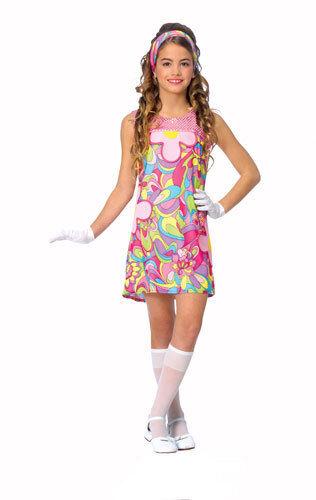 Groovy Girl 70's Kids Halloween Costume