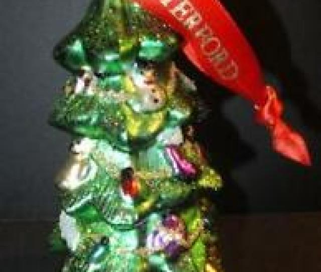 Waterford Christmas Tree Ornament