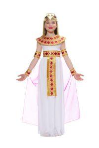 Girls Pink Cleopatra Halloween Costume