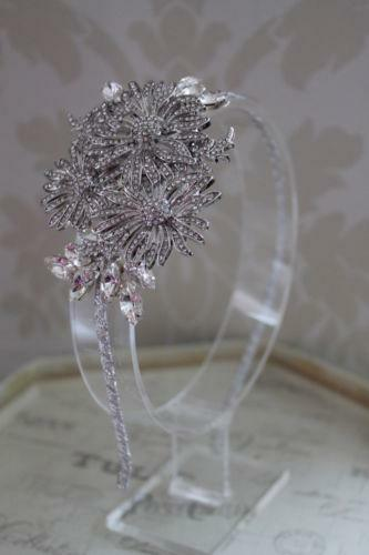 Vintage Bridal Headdress EBay