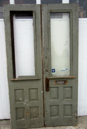 Antique Double Doors EBay