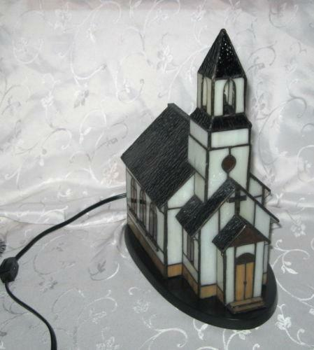 Stained Glass Church Light EBay