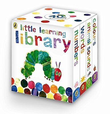 The Very Hungry Caterpillar: Little Learning Library by Eric Carle (Boardbook)