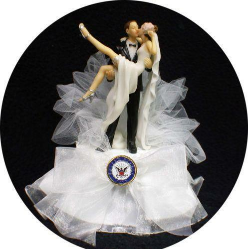 Navy Wedding Cake Toppers EBay