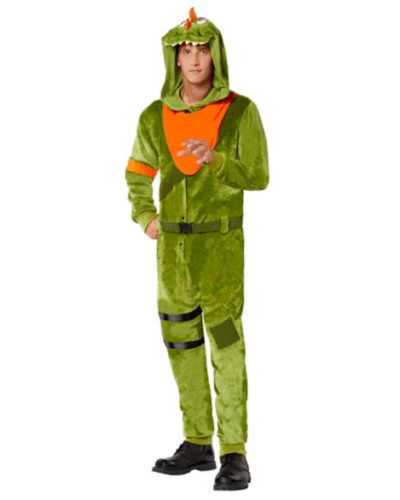Fortnite REX Halloween Costume Adult Size LARGE/XLARGE  *IN HAND READY TO SHIP*