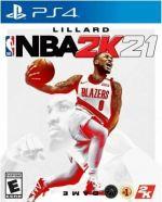 NBA 2K21 PS4 PlayStation 4 BRAND NEW SEALED