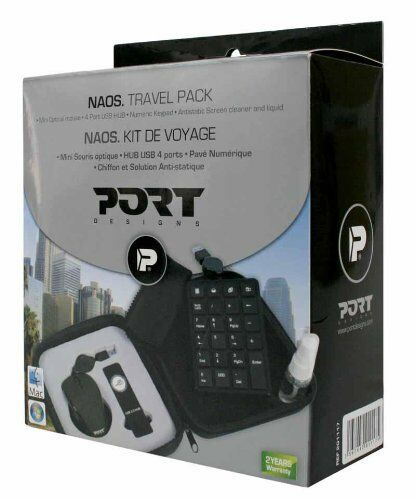 PORT Designs Naos Reise Notebook Zubehör NUM KEYPAD Maus 4 Port USB