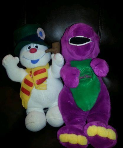 Barney Stuffed Toy EBay