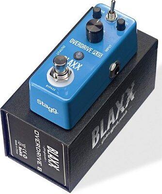 Stagg Blaxx Overdrive Plus Guitar FX Pedal BX-DRIVEB