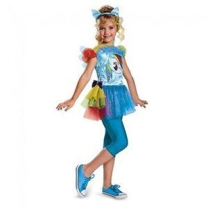 Disguise My Little Pony Mlp Rainbow Dash Classic Girls Halloween Costume 74766