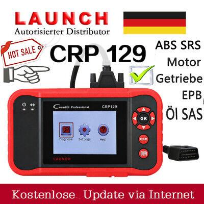 LAUNCH CRP129 OBD2 KFZ Diagnose Gerät Scanner EOBD PKW Fehlercodeleser ABS SRS