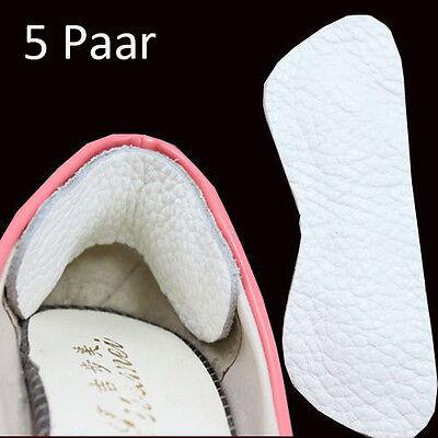 10 Stück Leder Fersenschutz Fersen Polster Schuhpolster Fersenkissen Anti Slip