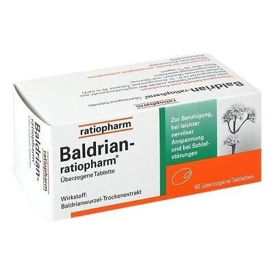 BALDRIAN RATIOPHARM überzogene Tabletten 60St 07052750