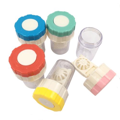 Kontaktlinsen Behälter Reinigung Aufbewahrung Reinigungsgerät Waschmaschine Neu