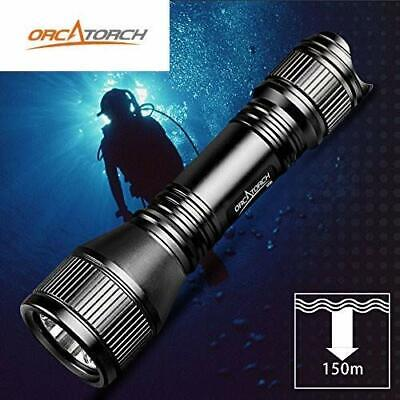 ORCATORCH D550 Upgraded Version Dive Light 1000 Lumens Ocean Scuba Flashlight