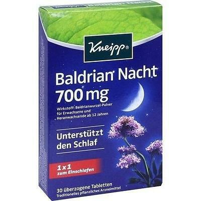 KNEIPP Baldrian Nacht überzogene Tabletten 30 St PZN 10141919