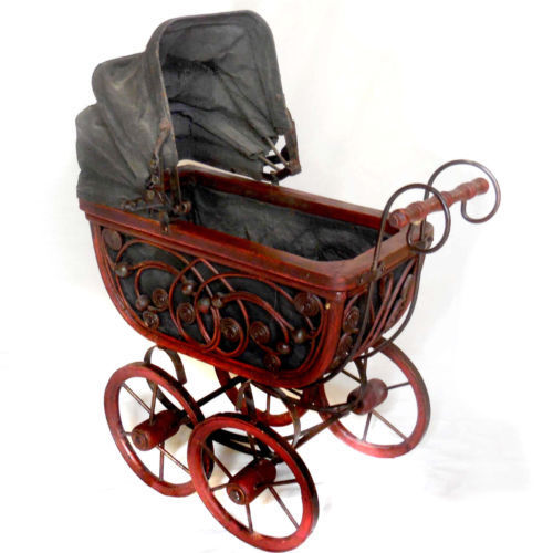 antique baby carriages buggies for