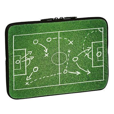 Design Notebook Schutzhülle 13,3 Zoll Laptop Hülle Tasche - Fußball Spielfeld