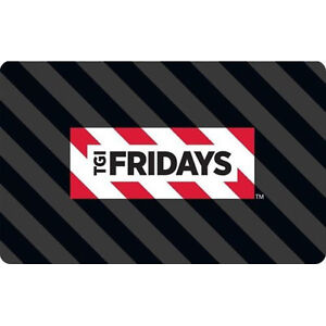 Buy a $50 TGI Fridays Gift Card & Receive a $10 bonus code - Email delivery