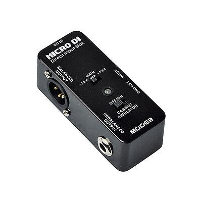 Mooer Micro Series - Micro DI - Direct Input Box Guitar Effects Pedal