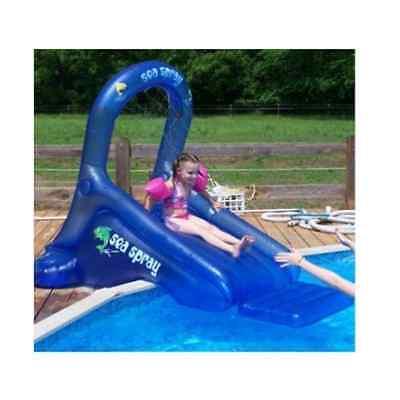 Sea Spray Inflatable Pool Slide, Inflatable Slide, Swimming Pool Water Slide New