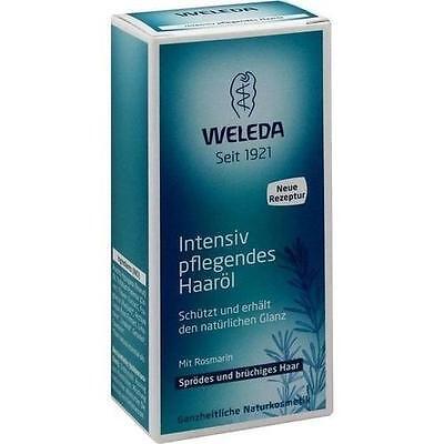 WELEDA intensiv pflegendes Haaröl 50 ml PZN 7126388