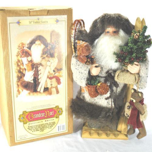 Grandeur Noel Santa EBay
